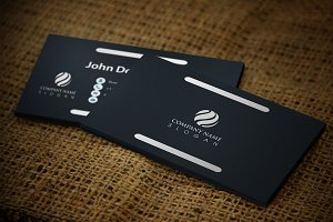 Whitestick Business Card Template