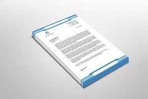 Nickily Letterhead Template