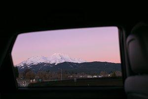 Sunset on Mt. Shasta