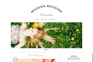 Responsive Portfolio Wordpress Theme