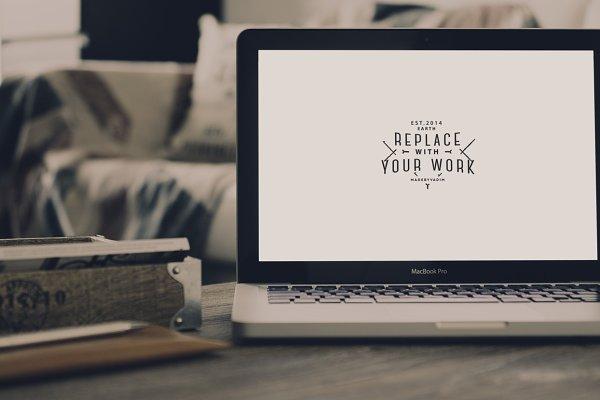 Hip MacBook Pro Mock-up