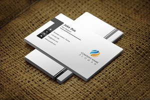 Cleangray Business Card Template
