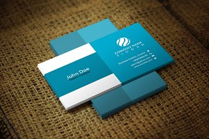 Blueara Corporate Business Card
