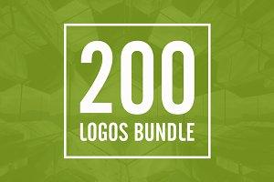 200 Logos Bundle
