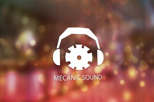 Mecanic Sound Logo Design