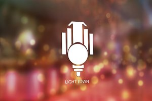 Light Town Logo Design