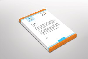 Oranly Letterhead Template