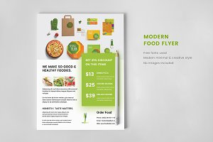 Food / Restaurant Flyer Minimal