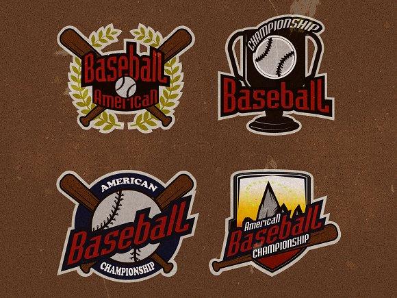 Baseball tournament prof. logo - Logos