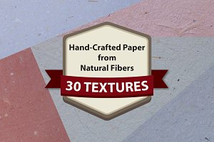 Handcrafted Paper - 30 Textures