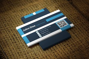 Vingle Business Card Template