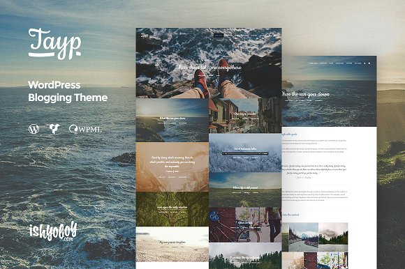 Tayp WP - WordPress Blogging Theme