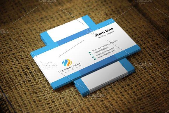 Simblu Corporate Business Card
