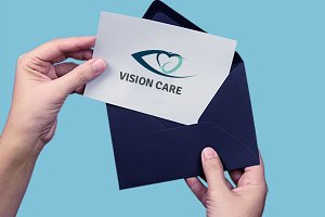 Vision Care Eye Logo