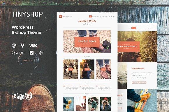 TinyShop WP - WordPress E-shop Theme