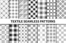 Cloth seamless patterns.