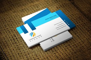 Blueat Corporate Business Card