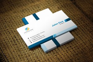 Blutash Business Card Template