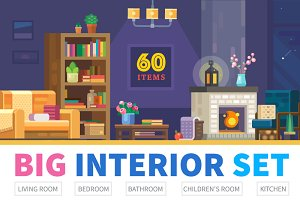INTERIOR CONSTRUCT-furniture & rooms