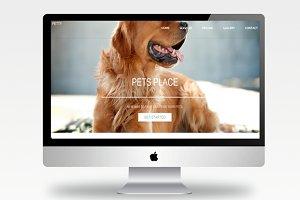 Petty- Responsive Site + Bonus Icons