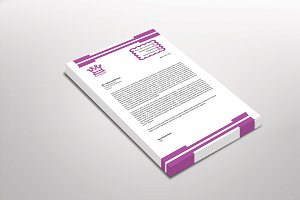 Kingster Letterhead Template