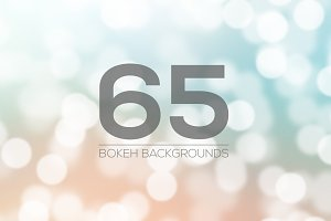 65 Bokeh Backgrounds