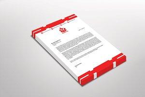RedFire Letterhead Template