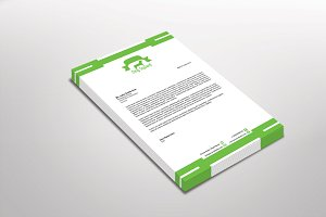 Dog Squard Letterhead Template