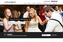 Playback - Premium Wedding DJ Theme by  in Wedding