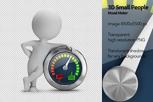 3D Small People - Mood Meter
