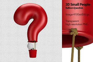 3D Small People - Balloon Question