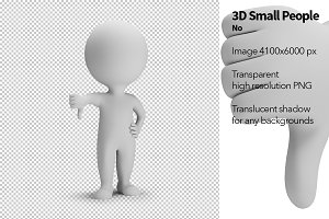 3D Small People - No