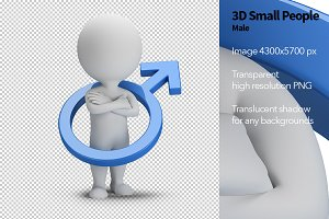 3D Small People - Male