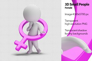 3D Small People - Female