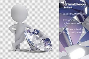 3D Small People - Diamond