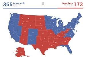 US Electoral Map