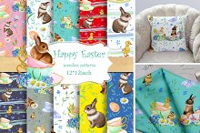 Easter Seamless Patterns