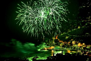 Firework in Recco
