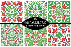 Set 6 - 6 Seamless Patterns