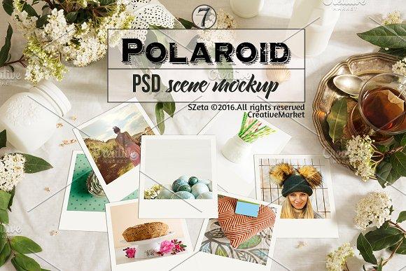 Download Polaroid stock images, teatime