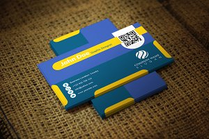 Yellon Business Card Template