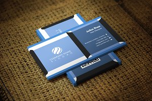 Blutika Business Card Template