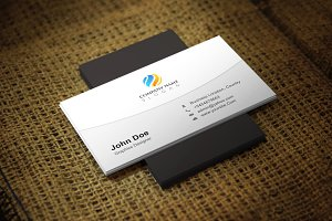 Everclean Business Card Template