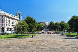 Piazza della Vittoria in Genova
