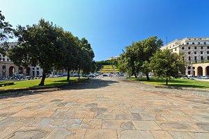 Piazza della Vittoria - Genova