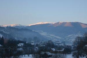 Carpathian Mountains village