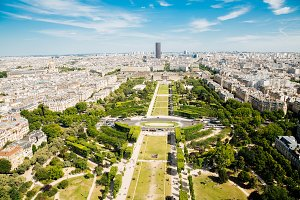 Champ de Mars in Paris