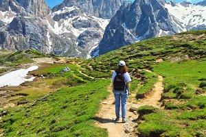 Dolomiti - hiking in Contrin Valley