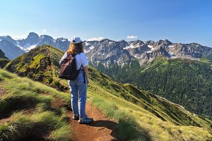 Trekking in Dolomites