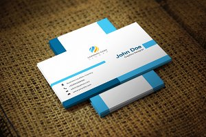 Bluanta Business Card Template